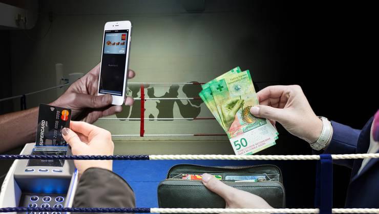 Bargeld oder elektronisch: So unterschiedlich mögens die Konsumenten.