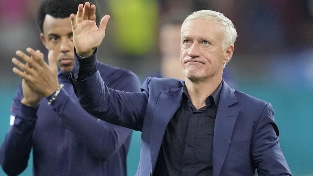 Didier Deschamps bleibt weiterhin Nationaltrainer Frankreichs