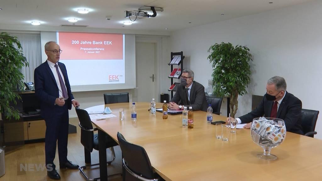 200 Jahre Bank EEK: Berner Urgestein feiert Geburtstag