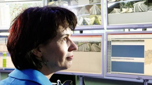 Bundesrätin Doris Leuthard besucht die VMZ in Emmenbrücke