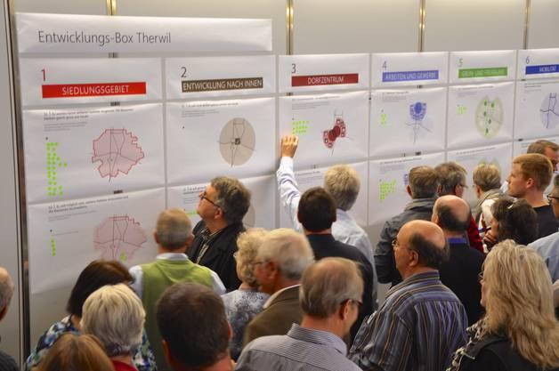 120 Teilnehmer diskutierten zuvor zu frei gewählten Aspekten.
