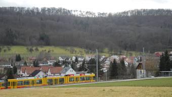Ohne Doppelspur sei das geplante Expresstram für das Leimental zum Basler Bahnhof SBB nicht machbar. (Archiv)