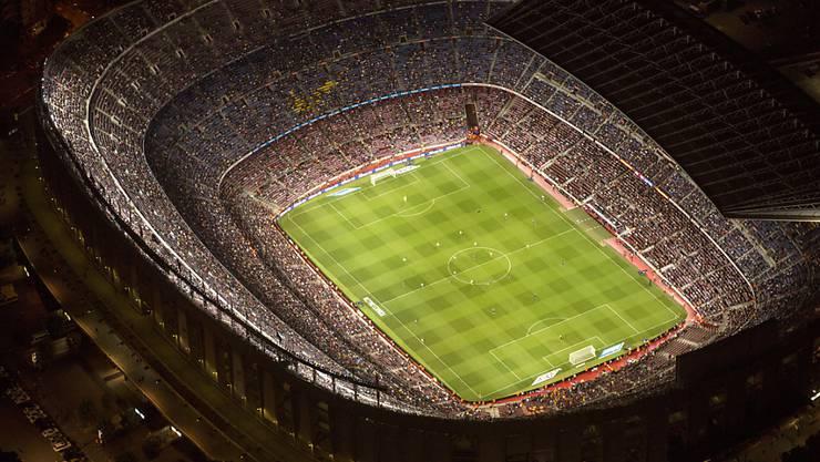 """Das Camp Nou, Heimstadion des FC Barcelona, sollte nach den Plänen der Terrorzelle vor einem Jahr angegriffen werden. Eine Explosion in der """"Vorbereitungswerkstatt"""" verhinderte wohl Schlimmeres. (Archiv)"""
