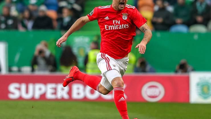 Haris Seferovic eröffnete gegen Sporting das Skore