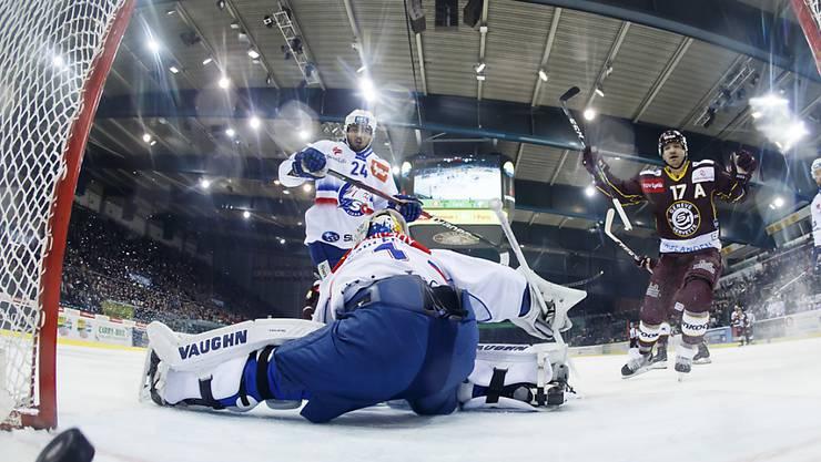 Als Meister in die Abstiegsrunde: Die ZSC Lions verloren in Genf gegen Servette 2:3