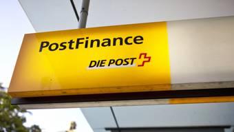 Bei der Postfinance geht momentan im E-Banking nichts.