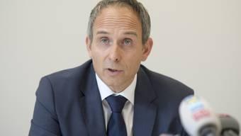 Urs Bartenschlager, Chef der Solothurner Kantonspolizei, gibt Auskunft zum Fall.