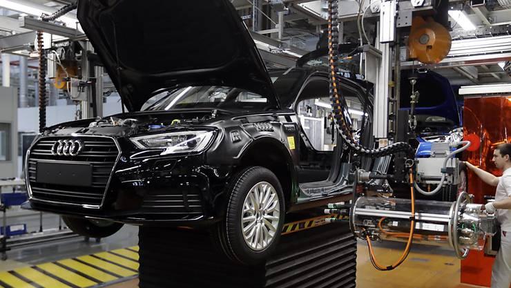 Der deutsche Autobauer Audi streicht in seinen deutschen Werken Tausende Stellen. (Arhcivbild)