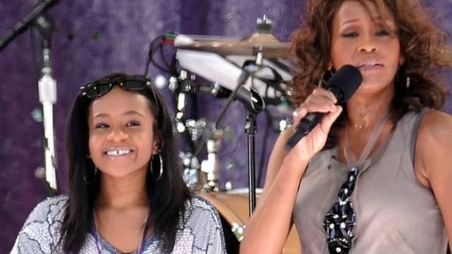 Bessere Zeiten: Bobbi Kristina (l) und Whitney Houston 2009