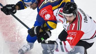 Henrik Tömmernes (rechts) verteidigt kommende Saison für Servette