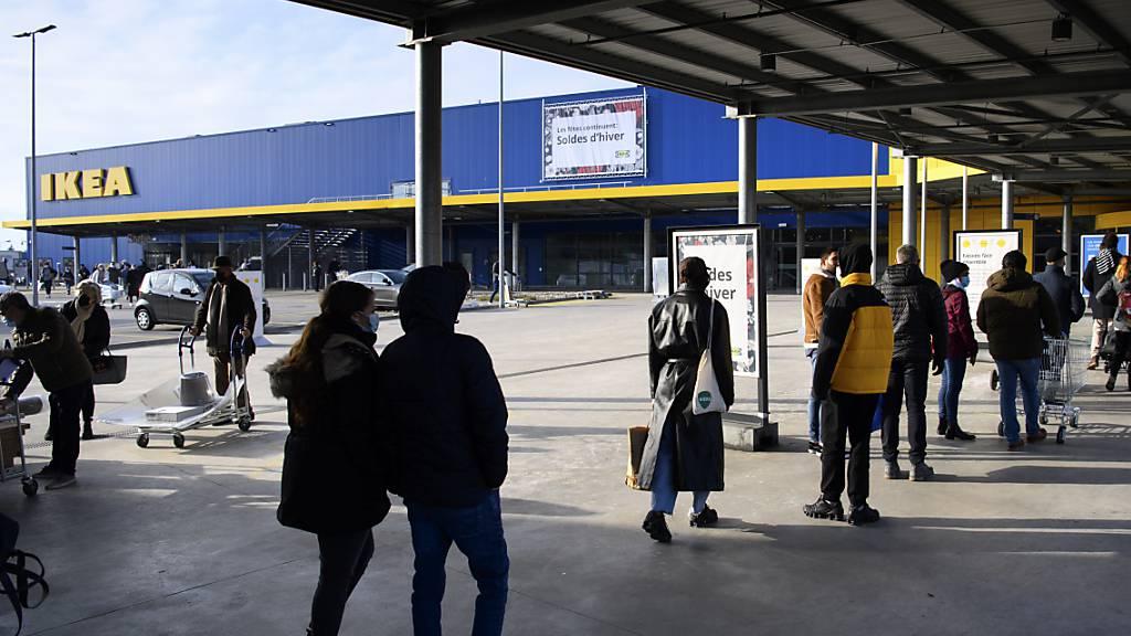 Ikea verbucht dank Online-Boom Rekordumsatz