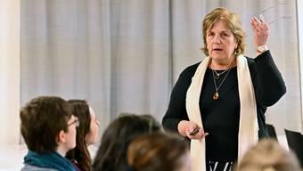 Sylvia Leck erklärte Gründe für Lernprobleme.