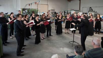 «colla voce» musizierten in der Regiomech. (Archivbild)
