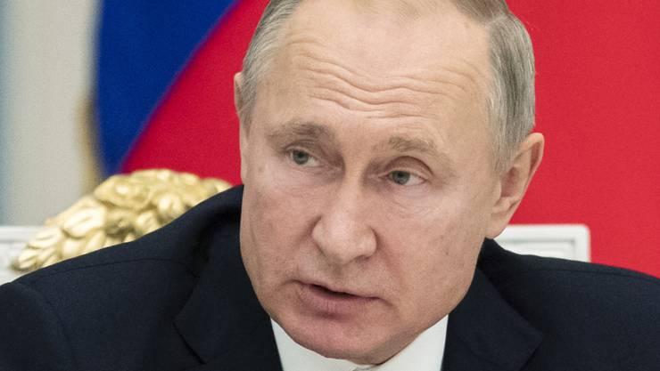 Wladimir Putin strebt nach Macht.