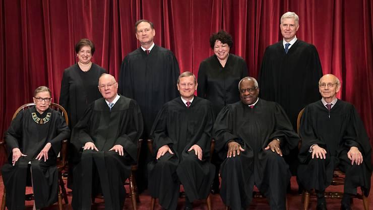 Die Richter des US-Supreme-Courts weisen Kritik an ihren Entscheiden durch US-Präsident Donald Trump zurück. (Archivbild)