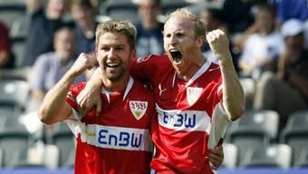 Ludovic Magnin und Thomas Hitzlsperger: 2007 spielten sie gemeinsam beim VfB Stuttgart.