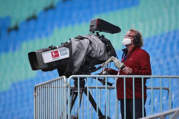Olympia mit Maskenpflicht – wie hier während eines Bundesligaspiels in Leipzig – für alle?