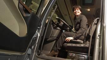 Dieses Lastwagensteuer hat Doris Leuthard nicht im Griff – den Abstimmungskampf auch nicht?