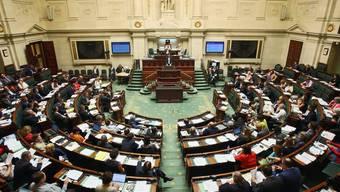 Blick ins belgische Parlament (Symbolbild)