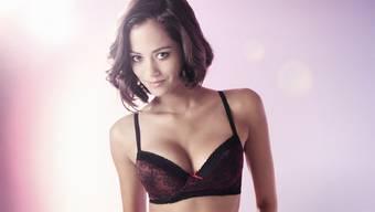 Miss Schweiz Aline Buchschacher zeigt sich in sexy Unterwäsche von Beldona