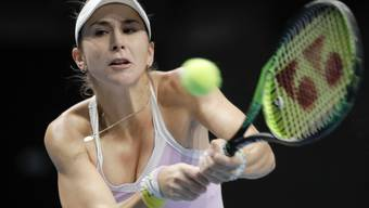 Belinda Bencic darf während den nächsten 14 Tagen das Hotelzimmer in Melbourne nicht verlassen.