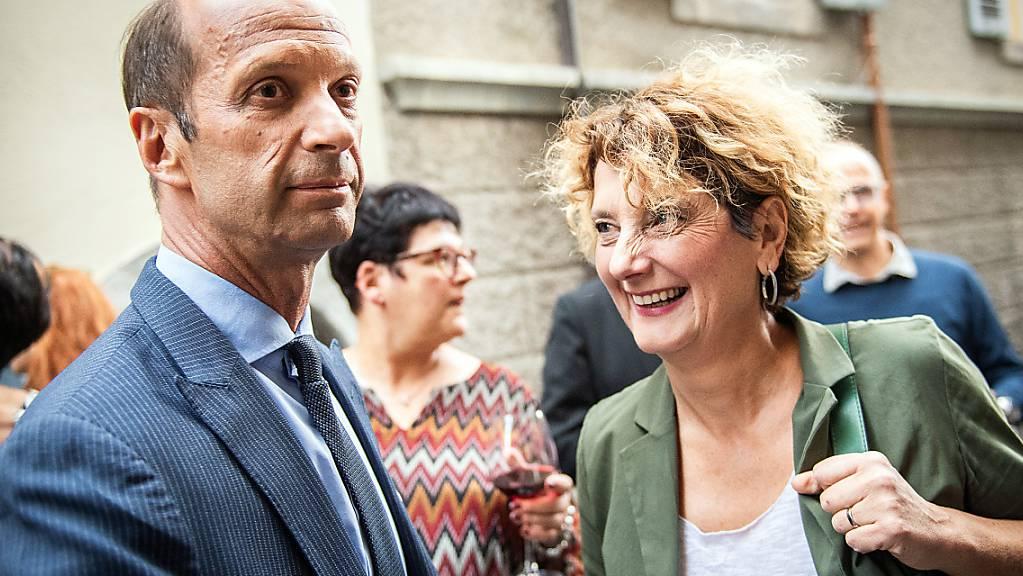 Die beiden CVP-Kandidaten haben es geschafft: Beat Rieder und Marianne Maret heissen die Ständeräte des Kantons Wallis. (Archivbild)