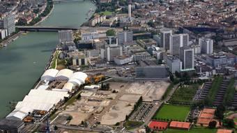 Novartis Campus: Der Ausbau des architektonischen Vorzeigeareals ist in Basel ins Stocken geraten