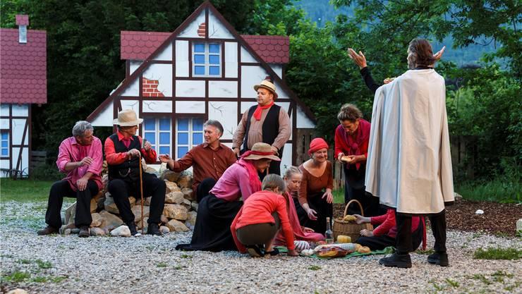 Wetterglück inklusive: Alle 15 Vorstellungen von «Romeo und Julia auf dem Dorfe» konnten gespielt werden.