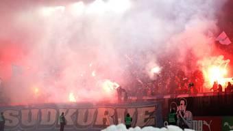 FCZ-Fans in der Südkurve: Sie wollen trotz Sperre nach Aarau reisen