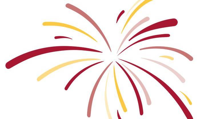 Ein imaginäres Feuerwerk im Solino