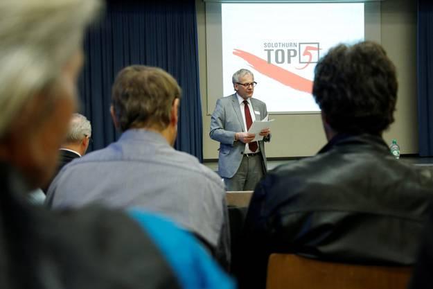 Solothurns Stadtpräsident Kurt Fluri