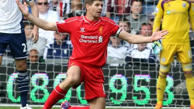 Kein Sieg im 500. Ligaspiel für Liverpool-Captain Steven Gerrard