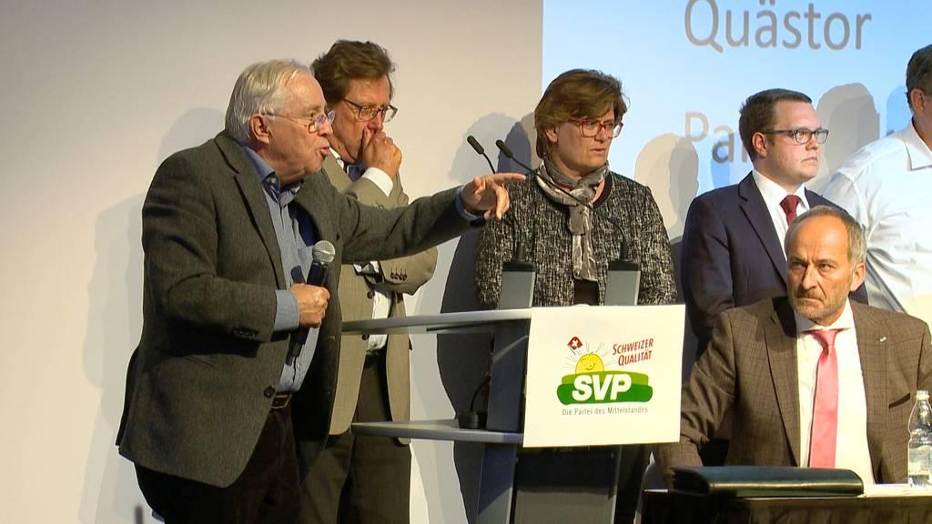 Patrick Walder nach langem Hickhack von SVP Zürich bestätigt