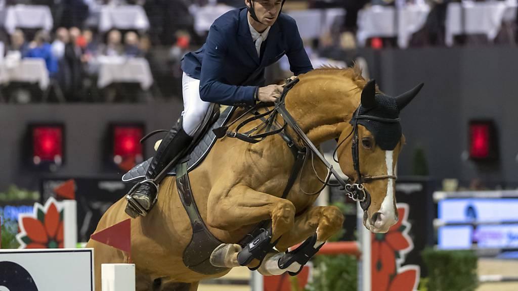 Steve Guerdat überrascht die Konkurrenz mit Victorio
