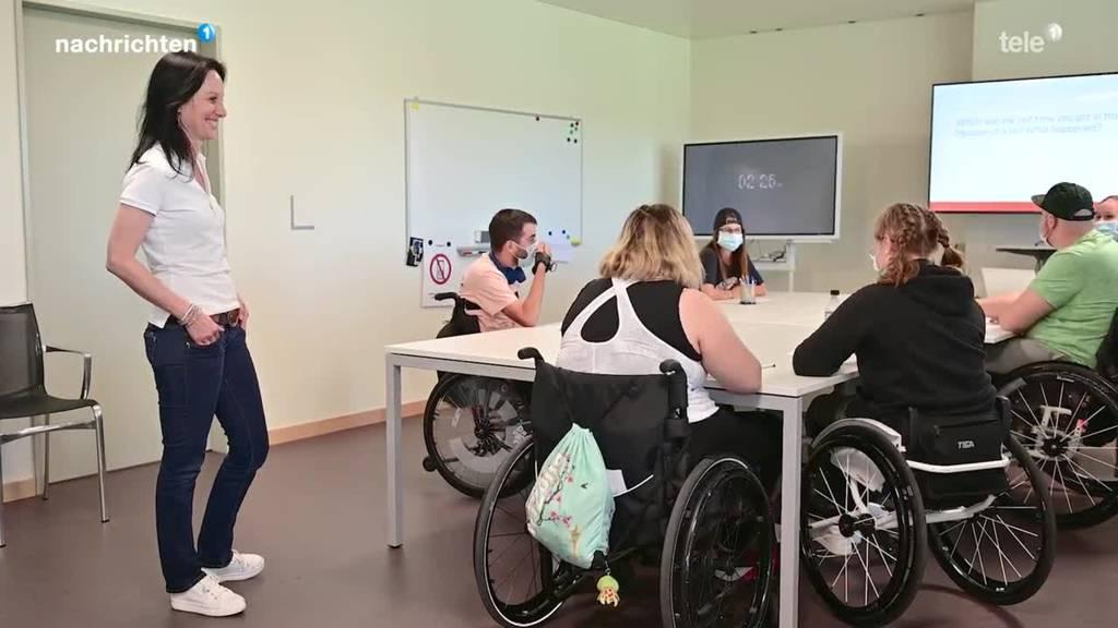 Schulstart Paraplegiker-Zentrum