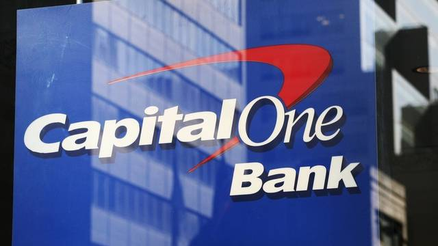 Signet der Capital One-Bank in New York