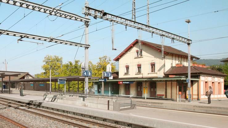 Der Bahnhof Wettingen heute.