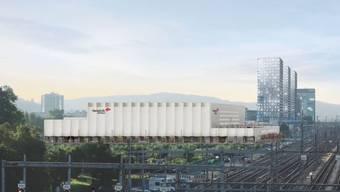 Der Spatenstich ist erfolgt: So soll die neue Hockey-Arena in Altstetten dereinst aussehen.