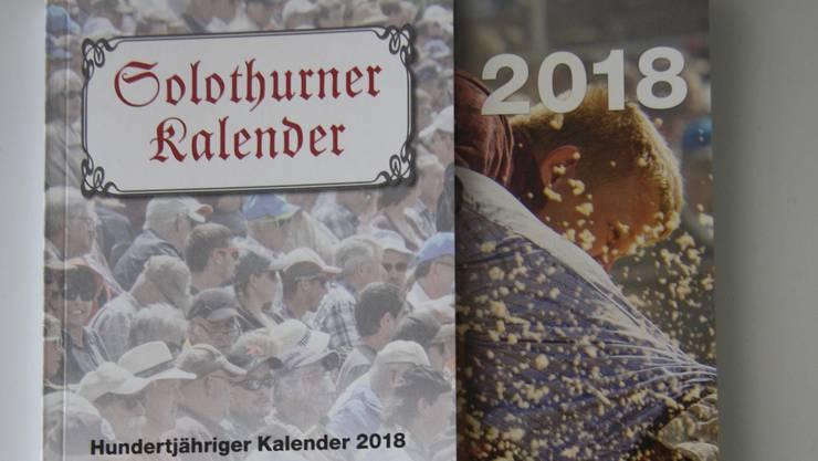 Der Solothurner Kalender 2018.