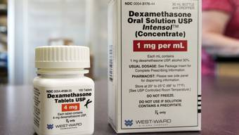 Das Steroid Dexamethason soll gemäss WHO nur bei schweren Fällen verabreicht werden. (Bild: Keystone)