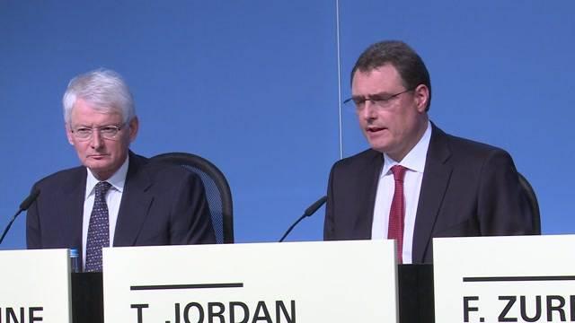 Thomas Jordan über die aktuelle Lage der SNB