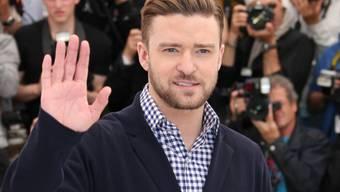 Justin Timberlake posiert in Cannes für die Fotografen