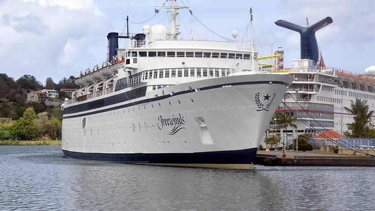 Bei einem Schiff der Sekte Scientology ist die Quarantäne wegen Masern aufgehoben worden. (Archivbild)
