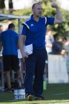 Grenchens Coach Patrick Bösch darf heute stolz sein auf seine Mannschaft.