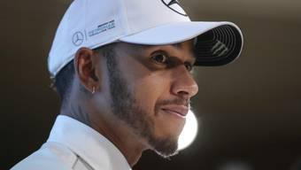 """Seine Freunde und sein Bruder sind schon grosse Fans, nun will sich auch Formel-1-Star der Erfolgsserie """"Game of Thrones"""" widmen: Lewis Hamilton kündigte an, die Wintertage vor dem TV zu verbringen. (Archivbild)"""