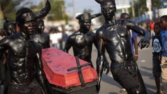 Bilder vom Karneval in der Hauptstdt in Port-au-Prince