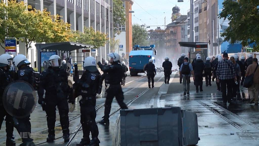 Gewalt am Marsch fürs Läbä in Zürich