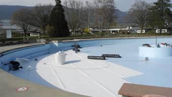 Sanierungsarbeiten am Schwimmbad Grenchen