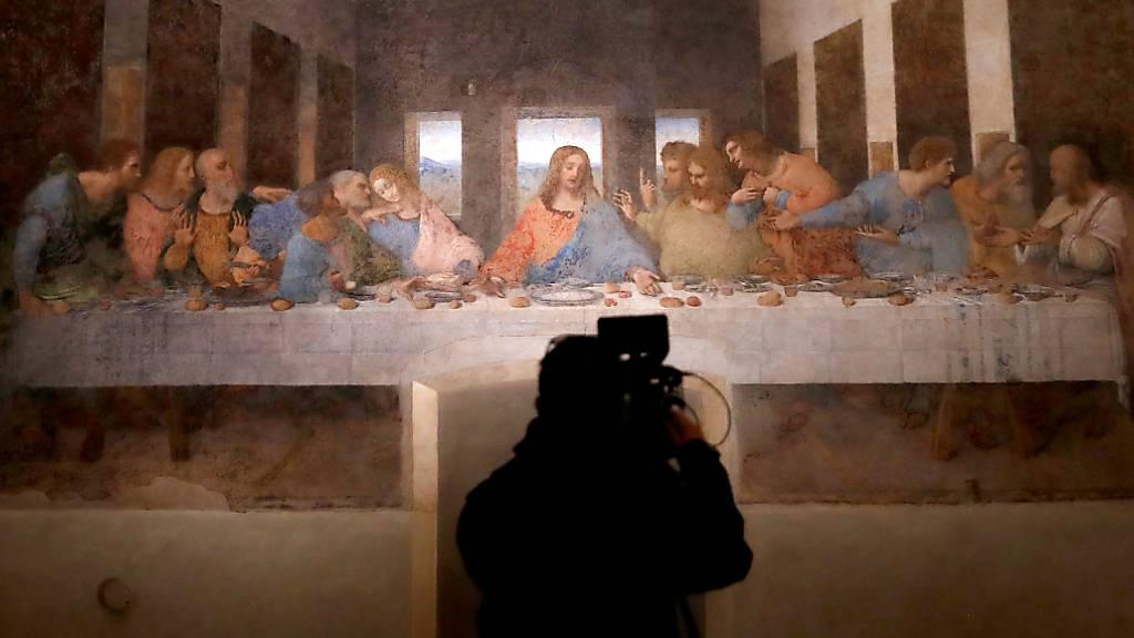 Mailänder Museum mit Da Vincis «Abendmahl» wieder geöffnet