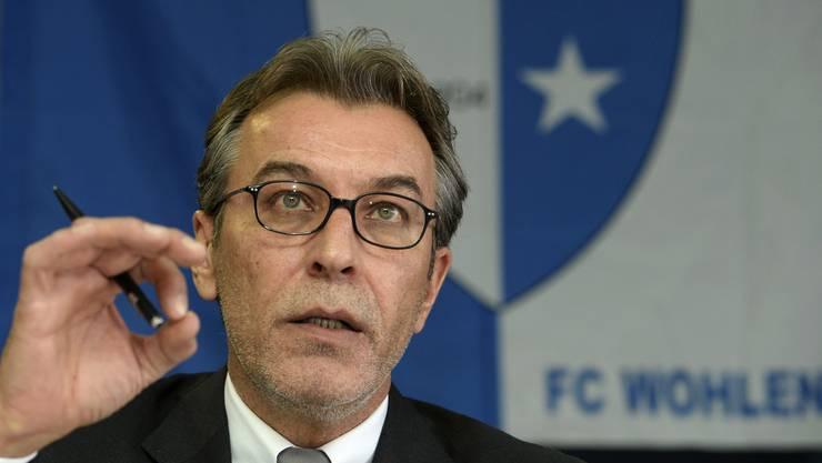 Zog beim FC Wohlen einst jahrelang die Stricke: René Meier.